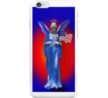 ✿♥‿♥✿SAFE BENEATH AN ANGELS WINGS IPHONE CASE.. TRIBUTE TO U.S.A.✿♥‿♥✿ iPhone Case/Skin