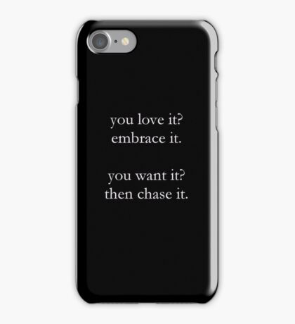What Are You Waiting For - Paradise Fears iPhone Case iPhone Case/Skin