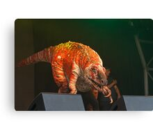 Erth's Dinosuar Zoo on stage at West End Live Canvas Print
