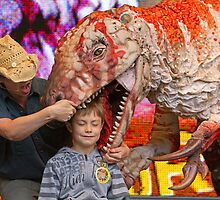 Erth's Dinosaur Zoo at West End Live by Keith Larby