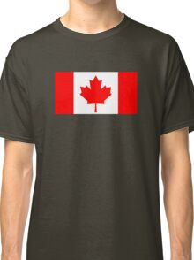 Flag of Canada Classic T-Shirt