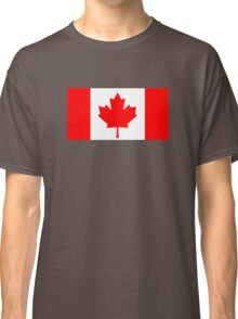 Flag of Canada Classic T-Shirt