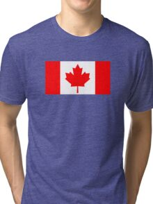 Flag of Canada Tri-blend T-Shirt