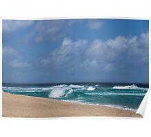 Summer in Hawaii - Banzai Pipeline Beach Poster