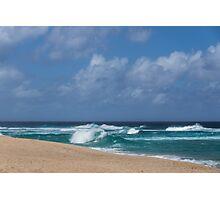 Summer in Hawaii - Banzai Pipeline Beach Photographic Print