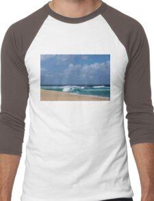 Summer in Hawaii - Banzai Pipeline Beach Men's Baseball ¾ T-Shirt