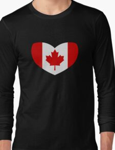 Love Canada Long Sleeve T-Shirt