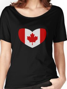 Love Canada Women's Relaxed Fit T-Shirt