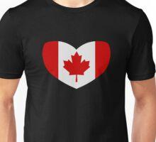 Love Canada Unisex T-Shirt