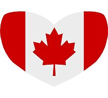 Love Canada Photographic Print