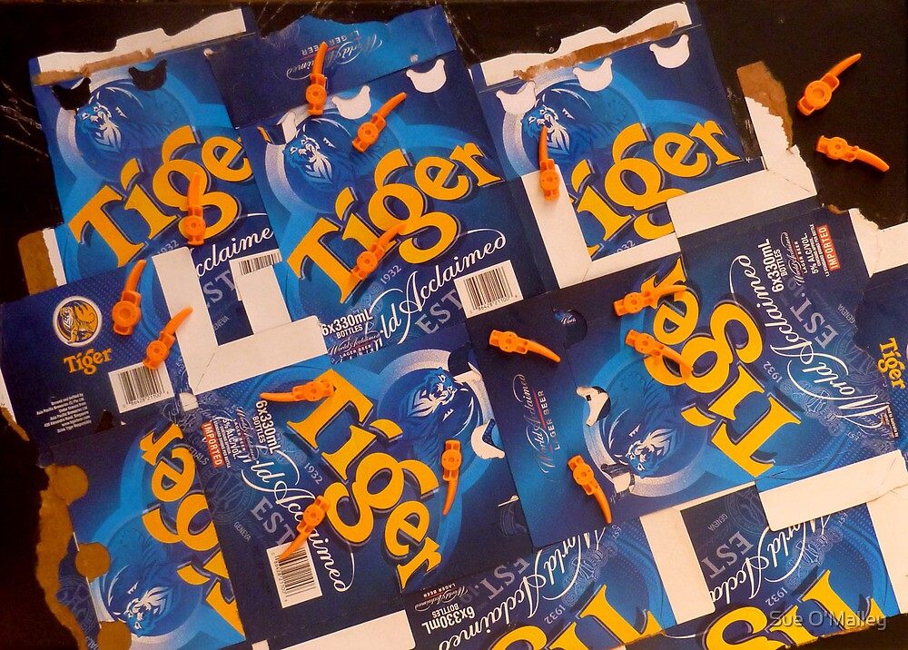 Tiger Packaging by Sue O'Malley