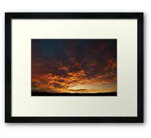 East Killara Sunrise Framed Print