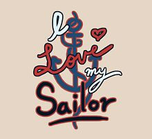 Loving my Sailor Womens Fitted T-Shirt