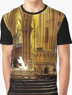 St Mary's Cathedral Sydney Australia Graphic T-Shirt