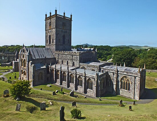 St Davids Cathedral by Yampimon