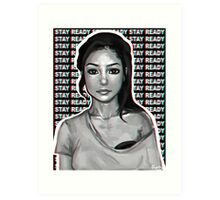 jhene aiko // stay ready Art Print