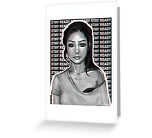 jhene aiko // stay ready Greeting Card
