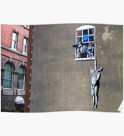Banksy's a Blast! Poster