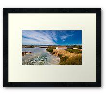 Ludo Saltwater Lagoons Framed Print