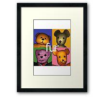 fur Framed Print