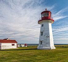 Cap d'Espoir lighthouse by PhotosByHealy