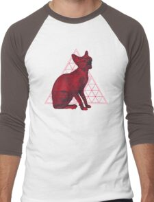 Sacred Sphynx dark Men's Baseball ¾ T-Shirt