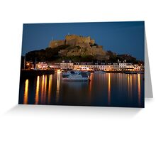 Gorey Harbour, Jersey Greeting Card
