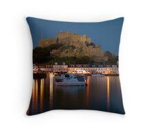 Gorey Harbour, Jersey Throw Pillow