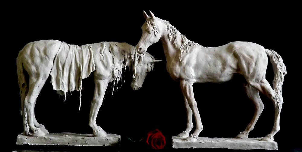 Kirsty Collection-Horse 1 and 2 by Michael West