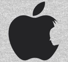 Apple Batman Black One Piece - Long Sleeve
