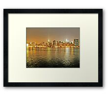 NYC from LIC Framed Print