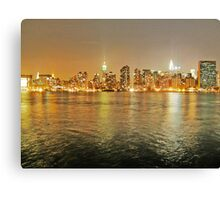 NYC from LIC Canvas Print