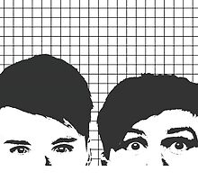 Dan and Phil by maddreamerr