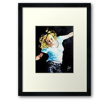 Heart and Soul of a Woman Framed Print