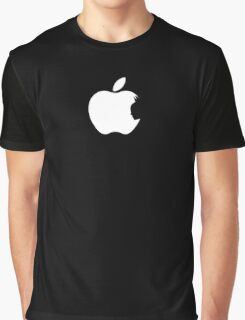 Apple Batman White Graphic T-Shirt