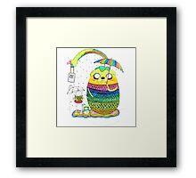 Adventure Time Rainbow Framed Print