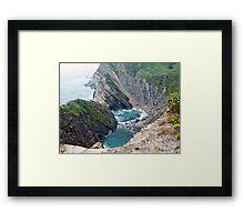 Stair Hole Landscape Framed Print