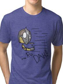 Dovahkiin Shout! - Whiterun Guard.  Tri-blend T-Shirt