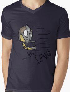 Dovahkiin Shout! - Whiterun Guard.  Mens V-Neck T-Shirt