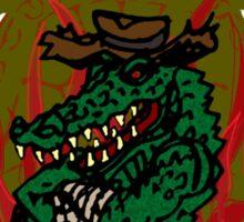 Leatherhead's Turtle Gumbo Sticker