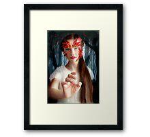 Ahinsa Framed Print