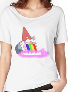 Puking Rainbows (no text) Women's Relaxed Fit T-Shirt