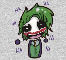 Joker Chibi Airhead - HAHAHA by foriamtheowl