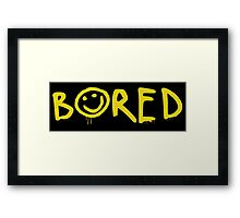 Sherlock - Bored! Framed Print
