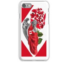 ☀ ツANGEL WATCHING OVER US IPHONE CASE (TRIBUTE TO CANADA) ☀ ツ iPhone Case/Skin