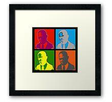 Sam Jackson Framed Print