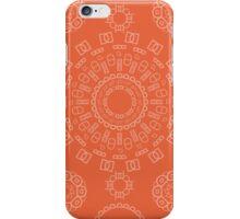 Monogram Pattern (D) in Koi iPhone Case/Skin