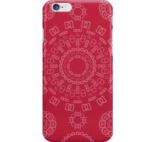 Monogram Pattern (D) in Samba iPhone Case/Skin