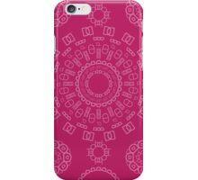 Monogram Pattern (D) in Vivacious iPhone Case/Skin