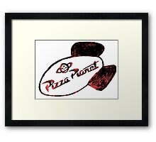 Pizza Planet Framed Print